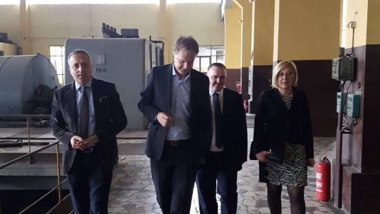 Ministrica Đapo i direktor Čibukčić posjetili TE Kakanj i razgovarali o toplovodu