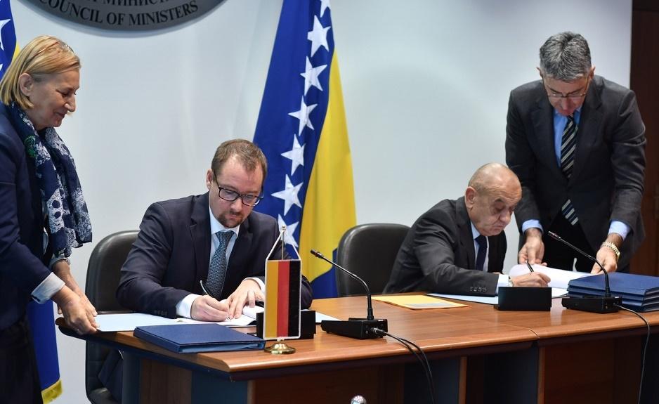 BiH od Njemačke dobila 60 miliona eura za izgradnju Vjetroparka Hrgud