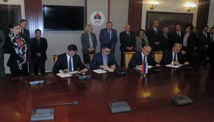 Predstavnici RS i kineskih kompanija potpisali sporazum o izgradnji TE 'Gacko 2'