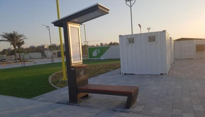 Srpske solarne klupe stigle i u Abu Dabi