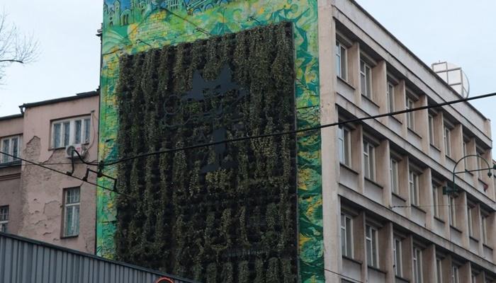 Za čistiji zrak: Sarajevo dobilo prvu zelenu fasadu