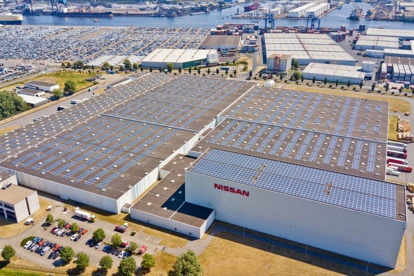 Nissan je pustio u pogon najveći solarni krov u Holandiji