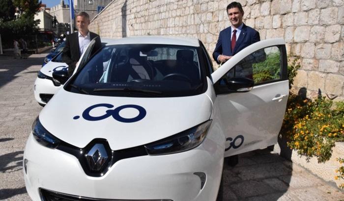 Grad Dubrovnik uveo 'car sharing' sustav s 30 električnih vozila
