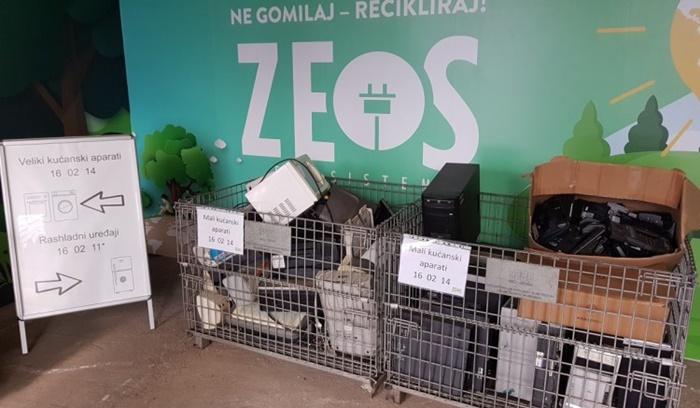 Reciklažno dvorište za elektronski i električni otpad i u Sarajevu