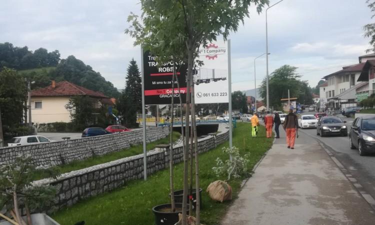 Na Svjetski dan zaštite okoliša 'Ekopak' posadio drveće u Gračanici