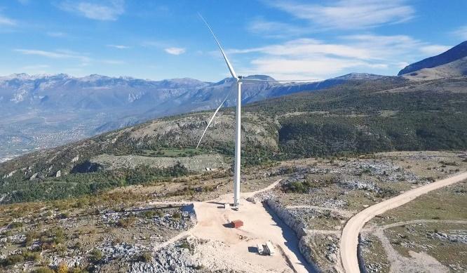Vjetroelektrana Podveležje: Proizvedeni prvi kilovatsati električne energije