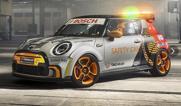 Električni Mini je novi sigurnosni automobil u Formuli E