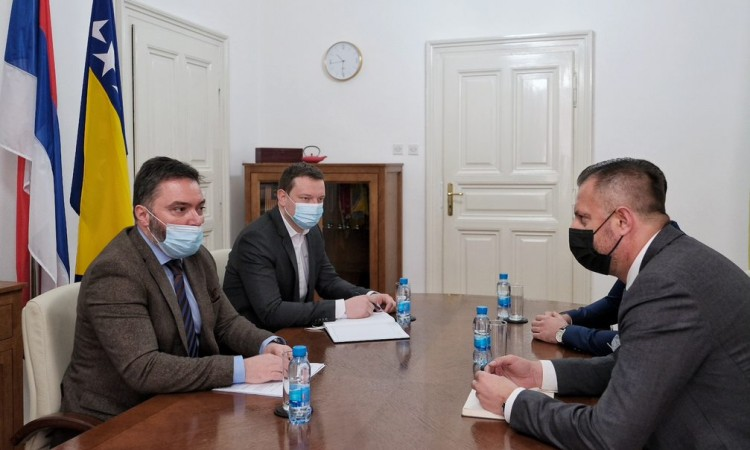 Košarac i Ćorić o izgradnji gasovoda 'Turski tok'