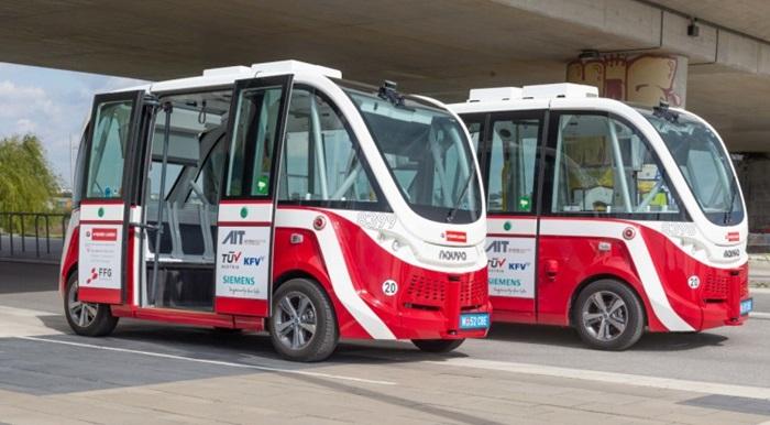Beč: Pri kraju pilot-projekat saobraćanja električnih autobusa bez vozača