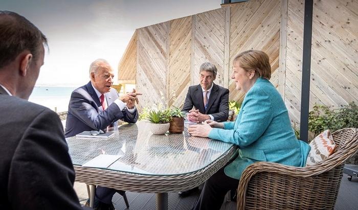 Merkel: Razgovori s SAD-om o Sjevernom toku 2 dobro napreduju