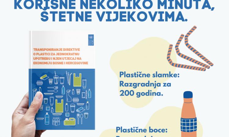 UNDP: Izvještaj o uticaju Direktive EU o plastičnom otpadu na ekonomiju BiH