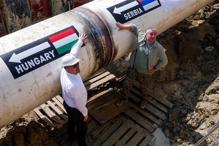 Gasovod 'Balkanski tok' kompletiran, Srbija i Mađarska spojile cijevi