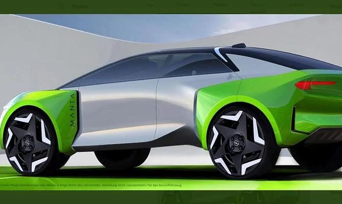 Opel vraća ime Manta, koristit će ga za električni automobil
