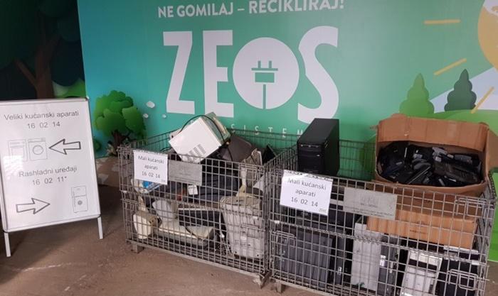 Prošle godine u FBiH sakupljeno 2.512 tona e-otpada