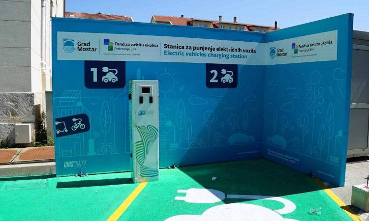 Mostar dobiva prvu javnu punionicu električnih automobila
