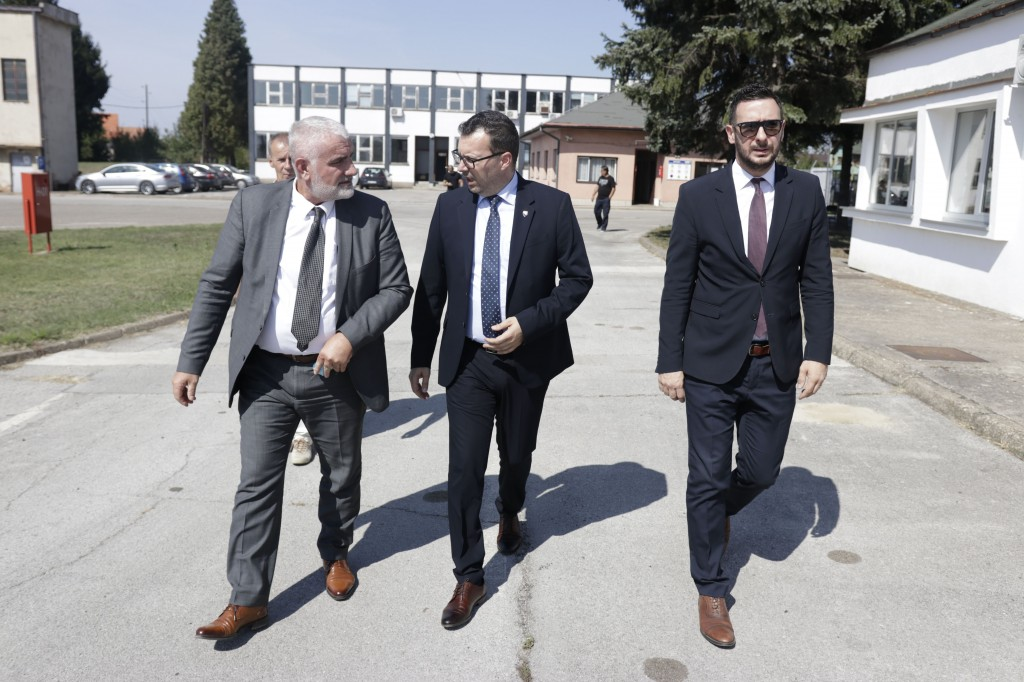Džindić u Živinicama: Investicija od 20 miliona KM
